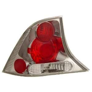 Anzo USA 221024 Ford Focus Chrome Tail Light Assembly   (Sold in Pairs
