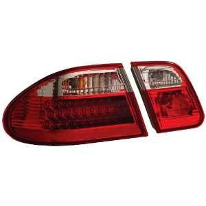Anzo USA 321114 Mercedes Benz Red/Clear G2 LED Tail Light Assembly
