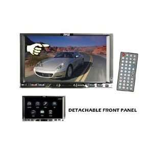 Pyle Car / RV 7 Double Din LCD Touch Screen Monitor DVD
