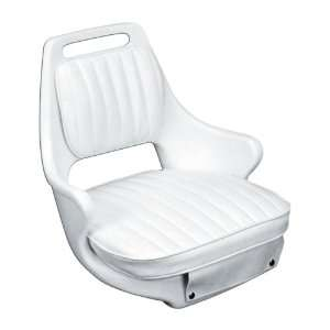 Moeller Heavy Duty Offshore Boat Helm Seat, Cushion, and