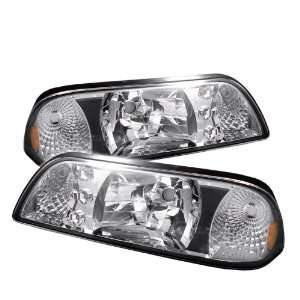 Ford Mustang Led Headlights/ Head Lights/ Lamps (Amber