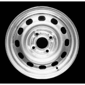 95 99 FORD CONTOUR STEEL WHEEL (PASSENGER SIDE)  (DRIVER RIM 14 INCH