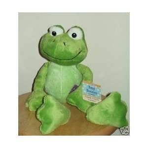 Plush Rattle Green Frog Baby Shower Gift Toys & Games
