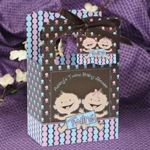 Girl Caucasian   Classic Personalized Baby Shower Favor Boxes Toys