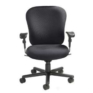 24/7 Heavy Duty Task Chair Fabric Foundation black