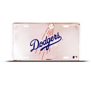 Dodgers La Los Angeles Mlb Metal Sport License Plate Wall