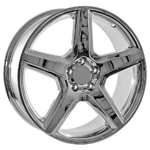 20 Inch AMG Mercedes Benz Chrome Wheels Rims (set of 4