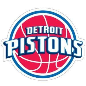 Detroit Pistons NBA Team Logo 6 Car Magnet  Sports