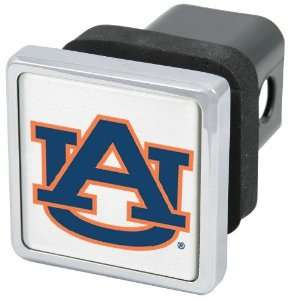 NCAA Auburn Tigers Chrome Trailer Hitch Cover   Sports