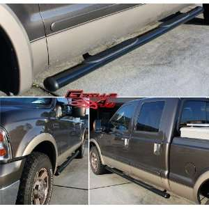 99 12 2011 2012 Ford Superduty Crew Cab 4Black Nerf Bars Automotive