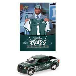 NFL Ford SVT Adrenalin Concept Diecast   Jets with Vernon