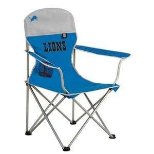 Detroit Lions NFL Deluxe Folding Arm Chair by Northpole