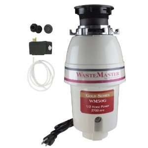 WasteMaster 1/2 HP Disposal with Oil Rubbed Bronze Air Switch Kit