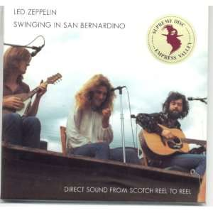 Swinging in San Bernardino Led Zeppelin Music