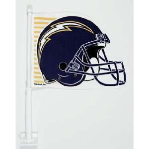 San Diego Chargers NFL Car Flag (11.75x14.5) Sports