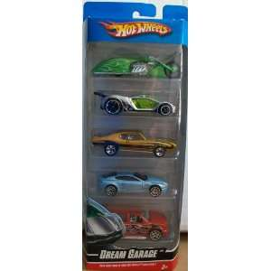 Hot Wheels 5 Pack Dream Garage Toys & Games