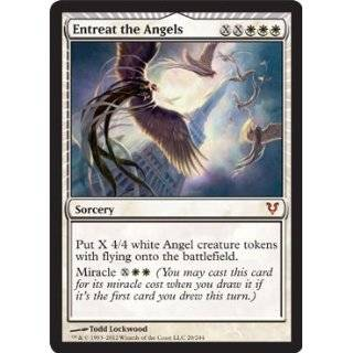 Magic the Gathering   Entreat the Angels (20)   Avacyn Restored