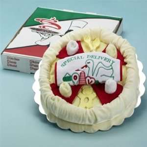 Special Delivery Pizza Baby Gift Set Toys & Games