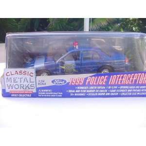 MOTOR WORKS 1999 POLICE INTERCEPTOR MICHIGAN STATE POLICE Toys