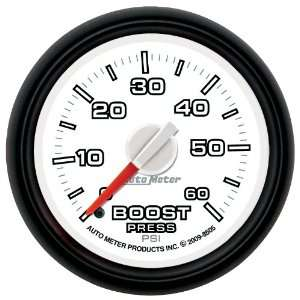 Auto Meter 8505 Factory Match 2 1/16 0 60 PSI Mechanical Boost Gauge
