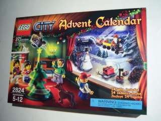 NISB New Sealed 2010 Lego City Advent Calendar 2824