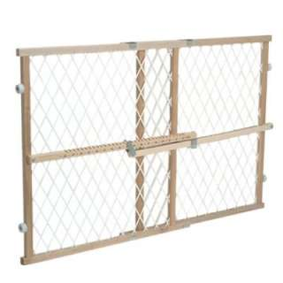 Evenflo Position and Lock Wood Safety Gate Baby Pet NEW