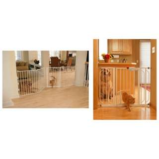 Carlson Extra Wide Pet Gate and Extensions.Opens in a new window.