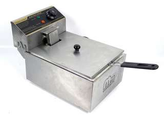 New MTN Countertop Desk 2500W Commercial Electric Deep Fryer Single