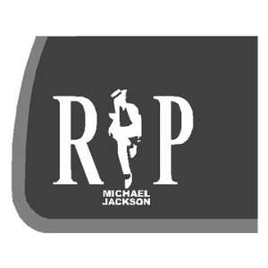 Michael Jackson RIP Car Decal / Sticker