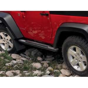 Jeep Wrangler 2 Door Black Tubular Side Steps Automotive