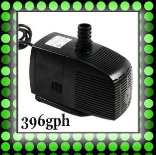 396gph Submersibl​e Water Pump For Koi Gold Fish Pond