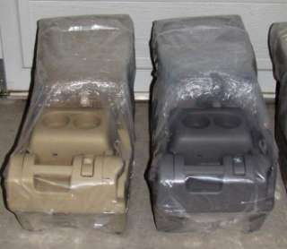 VINTAGE CAR, TRUCK, SUV CENTER CONSOLE/SEAT TAN or GRAY
