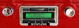 Stereo Radio 1965 65 Ford Mustang Custom Autosound USA 630 & CD