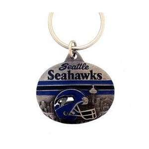NFL Design Key Ring   Seattle Seahawks