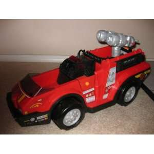 Price RESCUE HEROES FIRE TRUCK With LIGHTS and SOUNDS Toys & Games