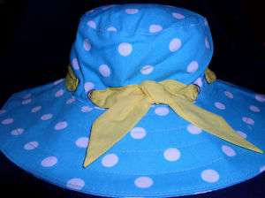 Gymboree Happy Rainbow sun hat 3 6 12 18 24 2T 3T 4T 5T